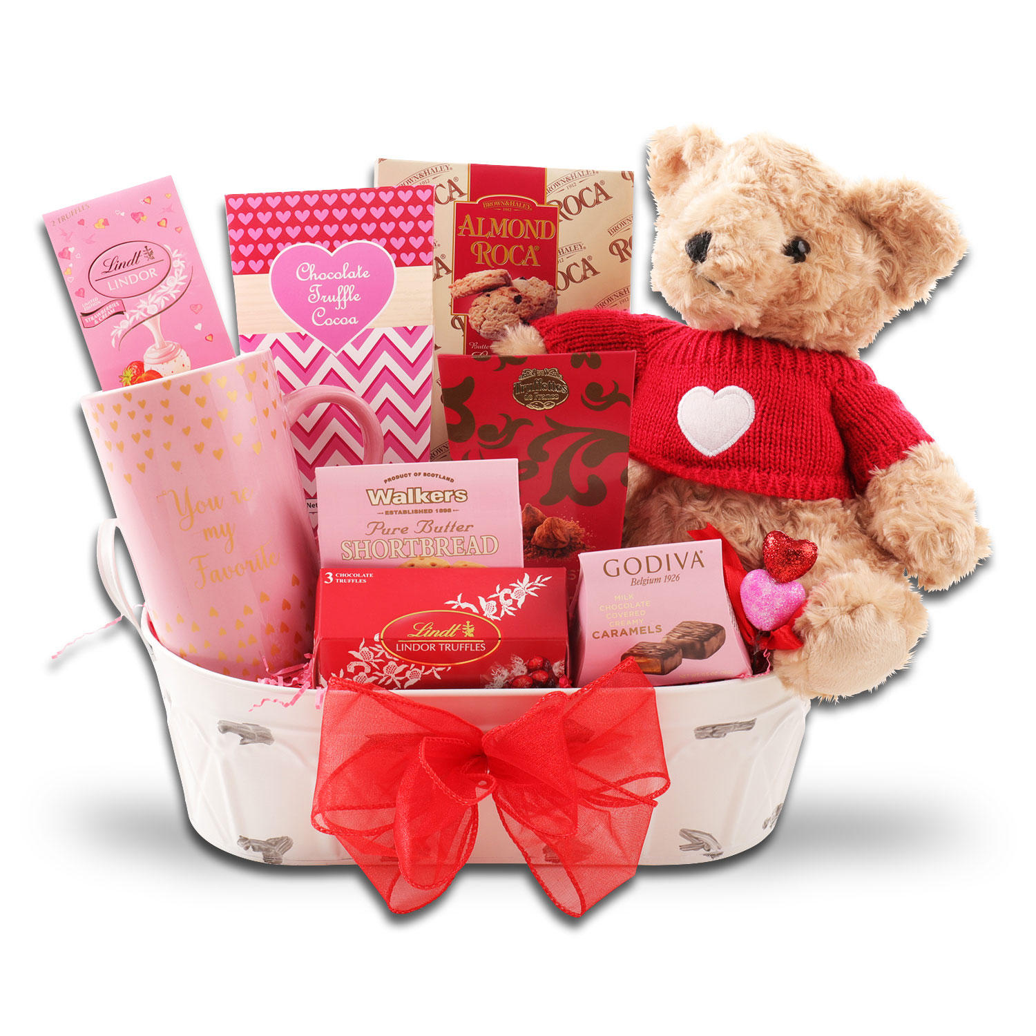 Cutest Valentine Ever Gift Basket