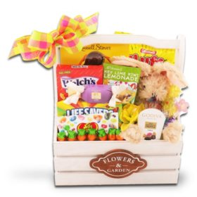 Gingham Easter Gift Basket