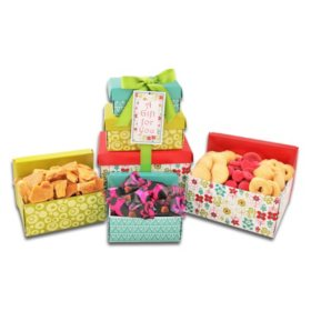 3-High Spring Gift Box Tower