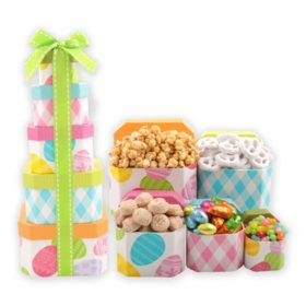 Eggcellent Easter Gift Tower