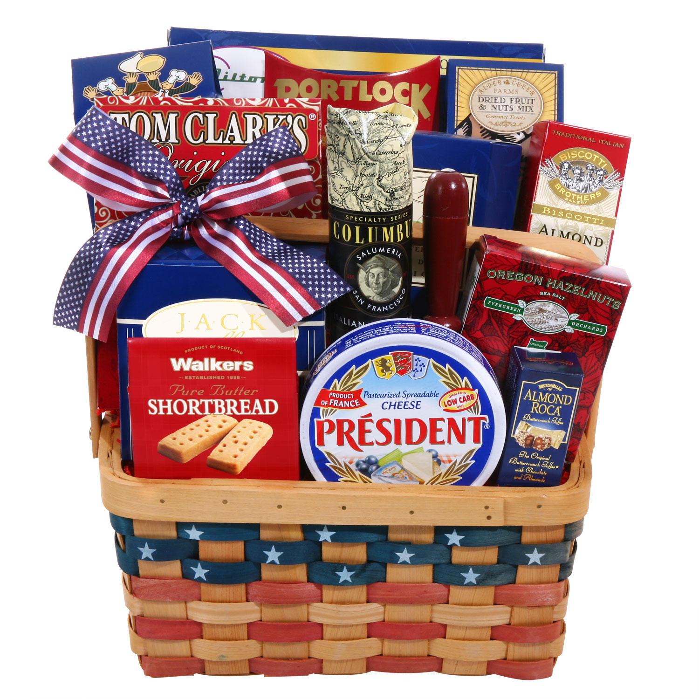 Fourth of July Celebrations Gift Basket
