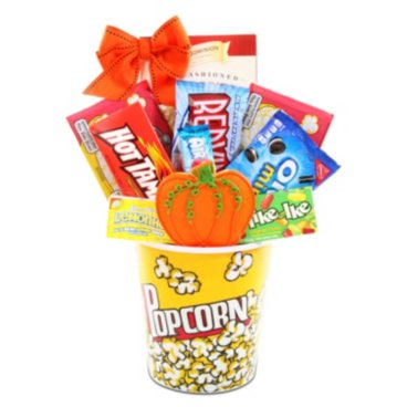 Alder Creek's Fall Movie Night Gift Basket