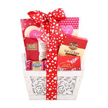 To My Beautiful Valentine Gift Basket