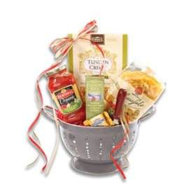 Dinner in Italy Gift Basket