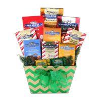 Alder Creek Ghirardelli Holiday Treats Gift Basket
