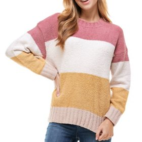 T&S Ladies Plush Stripe Sweater