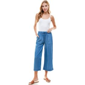 T&S by Thread & Supply Women's Wide Leg Crop Pants