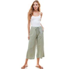 T&S by Thread & Supply Women's Wide Leg Crop Pants
