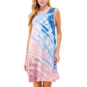 T&S by Thread & Supply Ladies Tie Dye Sleeveless Dress