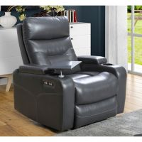 Abbyson Living Amy Power Theater Recliner with Power Headrest