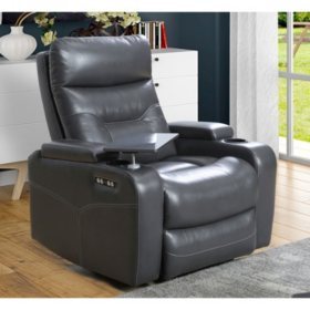Amy Power Theater Recliner with Power Headrest
