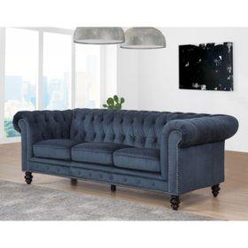Davenport Velvet Sofa (Assorted Colors)