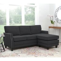 Deals on Abbyson Living Carter Reversible Fabric Sectional