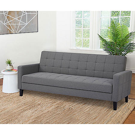 Hannah Storage Futon Sofa Bed, Assorted Colors