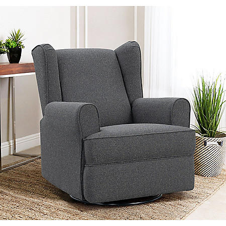 Kelsey Swivel Glider Recliner, Assorted Colors
