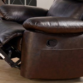 Superb Manhattan Top Grain Leather Recliner Sams Club Pdpeps Interior Chair Design Pdpepsorg