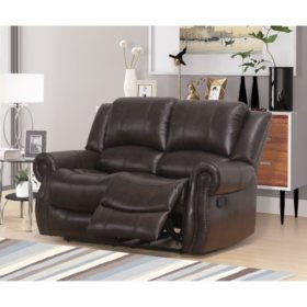 Astonishing Matthew Faux Leather Reclining Loveseat Sams Club Pabps2019 Chair Design Images Pabps2019Com