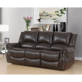 Matthew Faux Leather Reclining Sofa