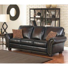 Melrose Leather Sofa