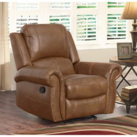 Winston Reclining Leather Recliner