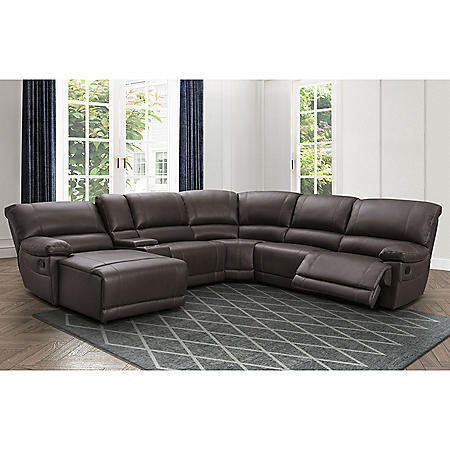 Carrington 6-Piece Sectional Sofa, Assorted Colors