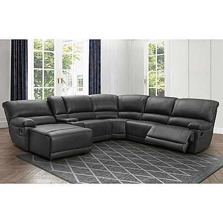 Carrington 6-Piece Sectional Sofa, Various Colors