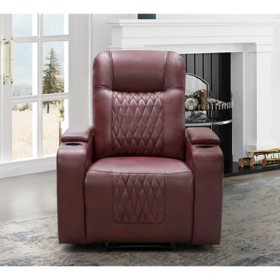 Bel Air Theater Recliner, (Assorted Colors)