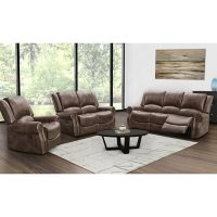 Matthew 3-Piece Reclining Sofa, Loveseat and Chair Set, Assorted Colors