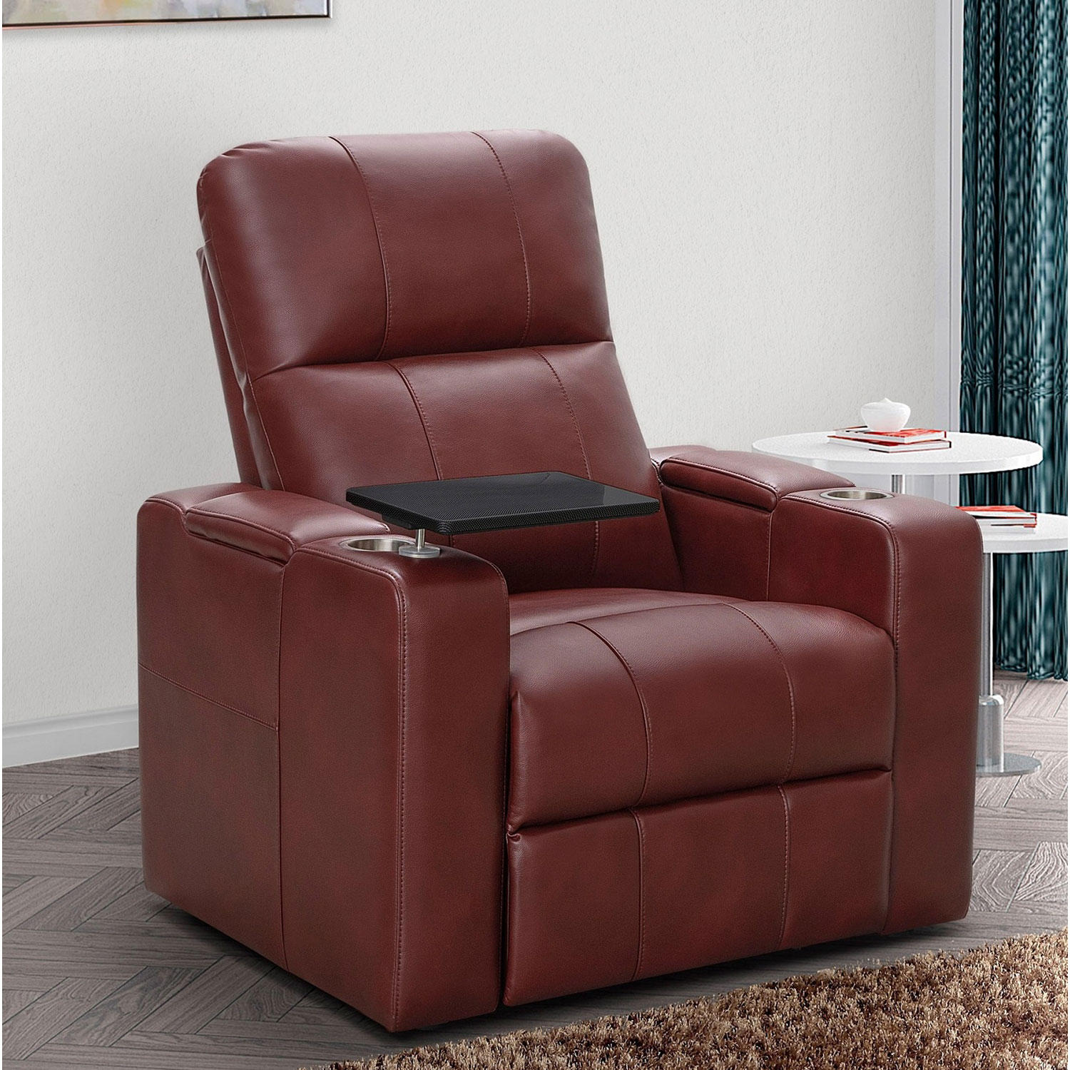 Abbyson Living Travis Power-Recline Home Theater Seating (Assorted Colors)