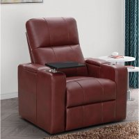 Abbyson Living Travis Power-Recline Home Theater Seating Deals
