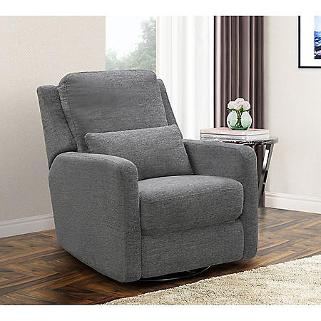 Annie Swivel Glider Recliner, Assorted Colors