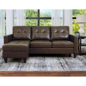 Ashbury Tufted Reversible Sectional, Assorted Colors