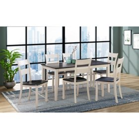 Ashford 7-Piece Dining Set, Assorted Colors