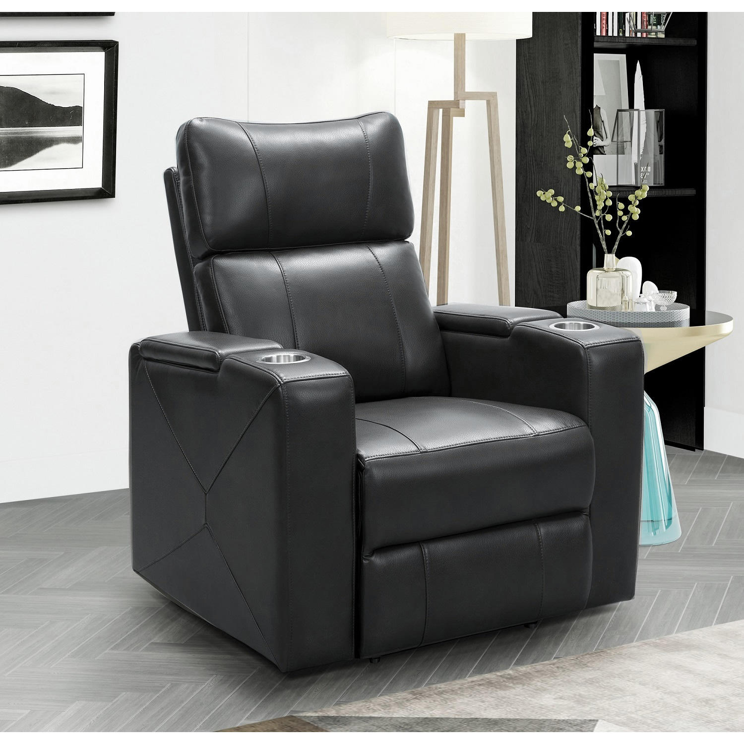 Abbyson Living Mason Power Theatre Recliner