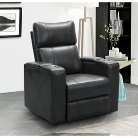 Mason Power Theatre Recliner with Power Adjustable Headrest, Assorted Colors