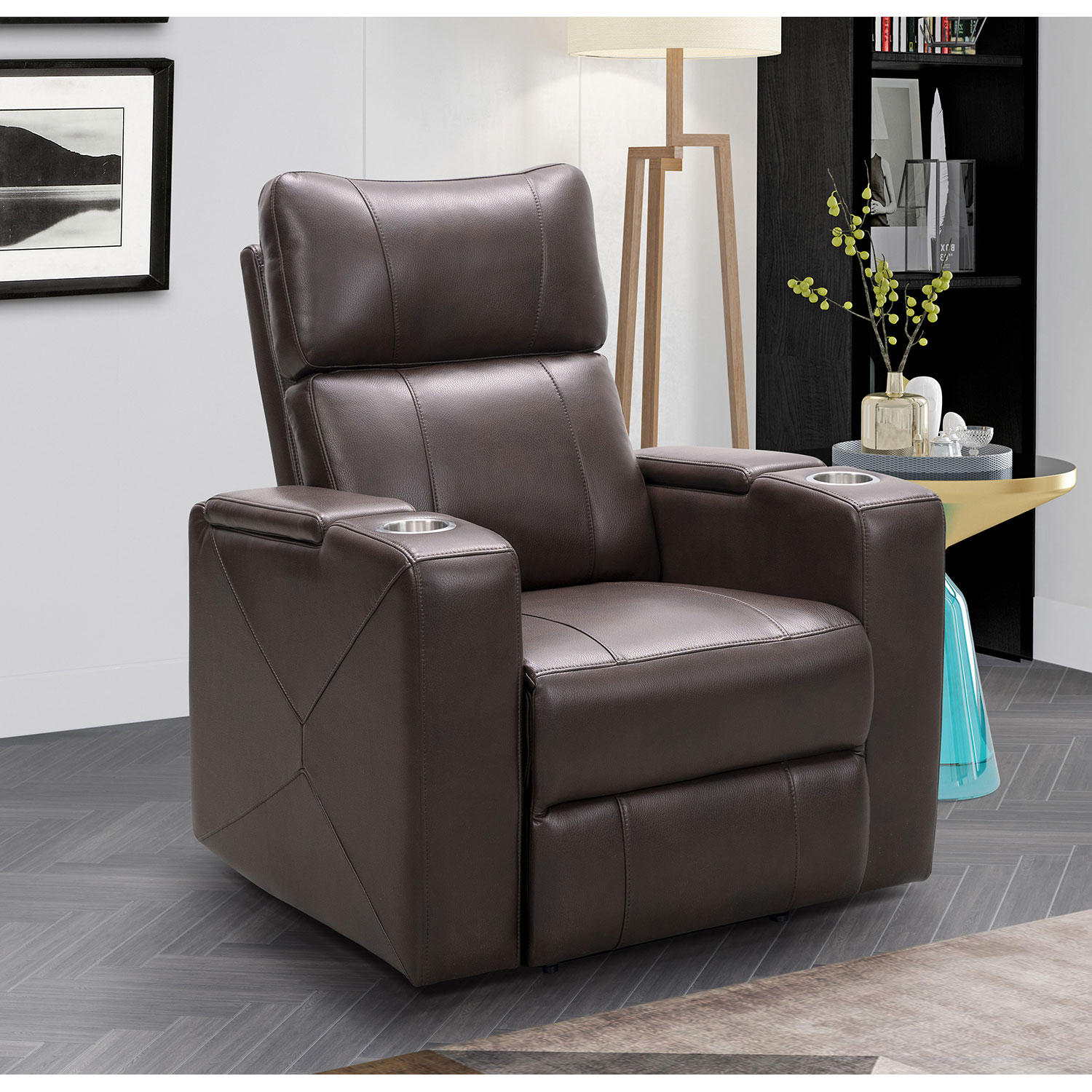 Mason Power Theatre Recliner with Power Adjustable Headrest