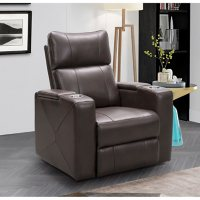 Deals on Abbyson Living Mason Power Theatre Recliner