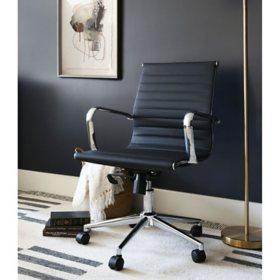 Sebastian Medium Adjustable Back Office Chair, Assorted Colors