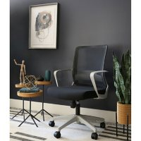 Louie Adjustable Medium Back Mesh Office Chair, Assorted Colors