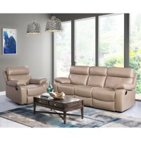 Strafford Top-Grain Leather Reclining Armchair and Sofa Deals