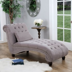 Bainbridge Fabric Chaise Lounge (Assorted Colors)