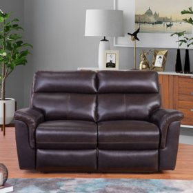Peachy Franklin Top Grain Leather 3 Piece Reclining Sofa Loveseat Ncnpc Chair Design For Home Ncnpcorg