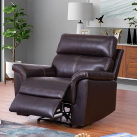 Superb Franklin Top Grain Leather 3 Piece Reclining Sofa Loveseat Ncnpc Chair Design For Home Ncnpcorg