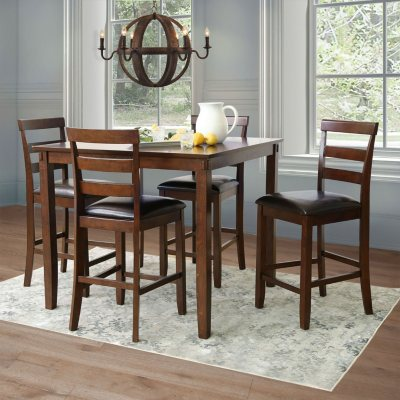 Sycamore 5 Piece Counter Height Dining Set Sam S Club