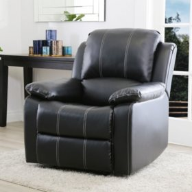 Resnick Leather Recliner (Assorted Colors)