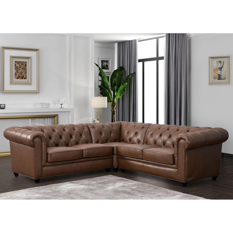 Woodbridge Tufted Chesterfield Sectional Sofa