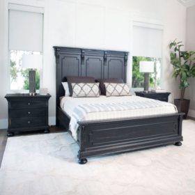 Callaway Distressed Black Bedroom Set (Assorted Sizes)
