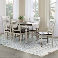 Deals on Abbyson Living 7Pc Mila Dining Set