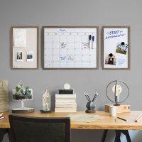 U Brands Decor Rustic Framed Organization Center Kit