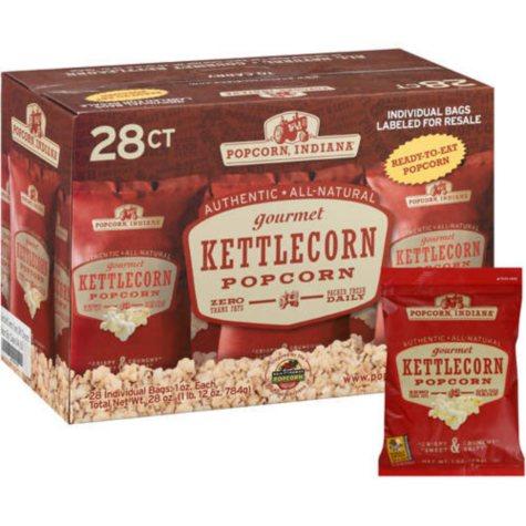 Popcorn, Indiana Gourmet Kettlecorn - 28/1oz